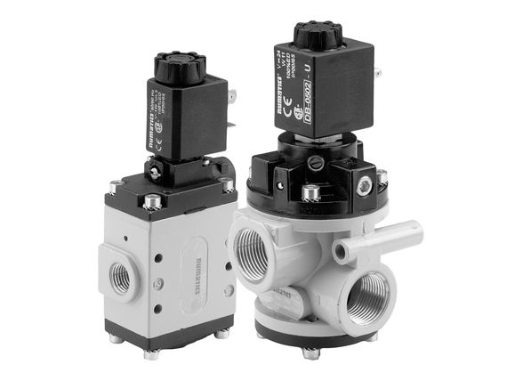 Series NF Pneumatic Poppet Valves