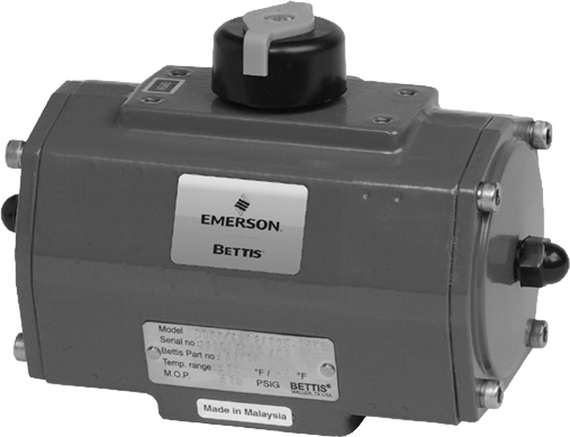 Bettis D-Series Rack and Pinion Pneumatic Valve Actuator