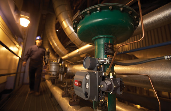 In a heater drain system, flashing fluids can cause erosion damage to control valves and associated piping.