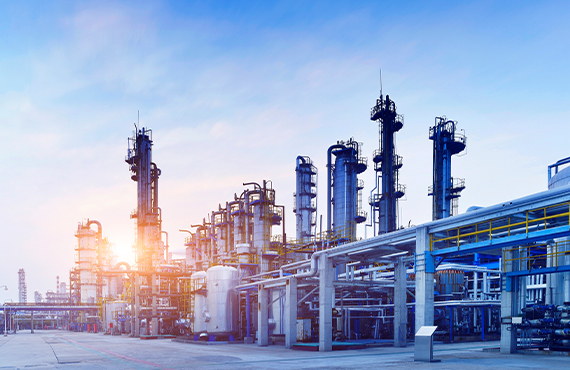 The proper selection of control and isolation valves in a refinery gas plant is essential for precise control and tight shut off and containment of the process gasses.